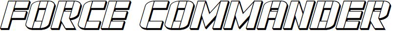 Force Commander 3D Italic