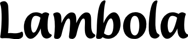 Preview image for Lambola Font