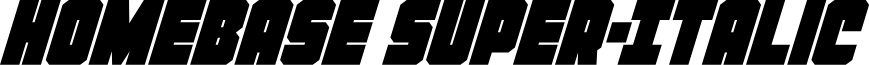 Homebase Super-Italic