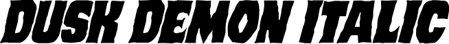 Dusk Demon Italic