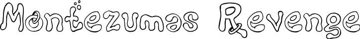 Preview image for Montezumas Revenge Font