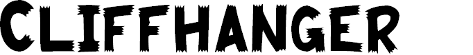 Preview image for Cliffhanger Font