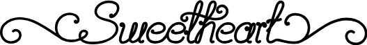 Sweetheat font