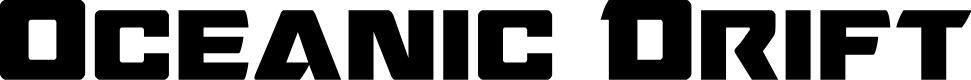 Preview image for Oceanic Drift Regular Font