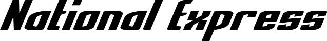 Preview image for National Express Italic