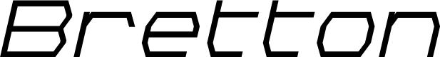 Preview image for Bretton Semi-Bold Italic