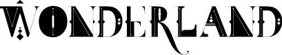 Preview image for FDT_Wonderland Font