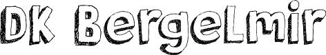 Preview image for DK Bergelmir Font