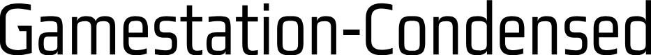 Preview image for Gamestation-Condensed Font