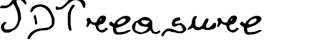 Preview image for JDTreasure Font