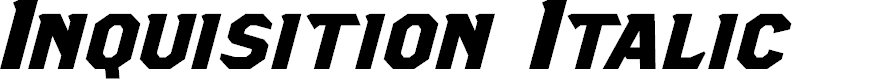 Preview image for Inquisition Italic