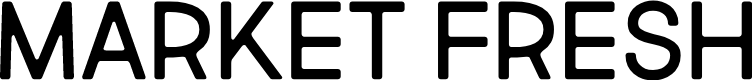 Preview image for Market Fresh All Caps Font