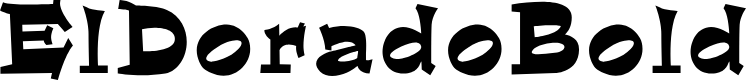 Preview image for ElDorado-Bold Font