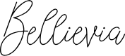 Preview image for Bellievia Font