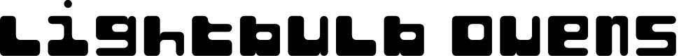 Preview image for Lightbulb Ovens Regular Font