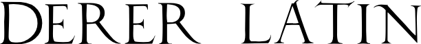 DuererLatinCapitals