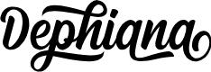 Preview image for Dephiana Font