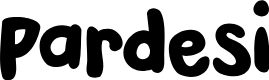 Preview image for DKPardesi Font