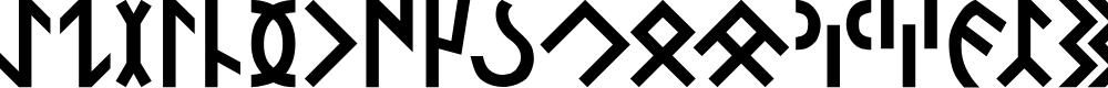 Preview image for Orkun-Regular Font