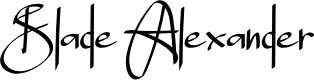 Preview image for Blade Alexander Font
