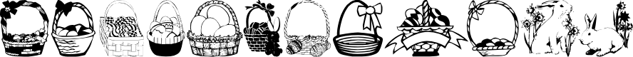 Preview image for Easterdc Font