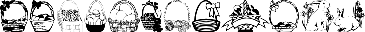 Easterdc font