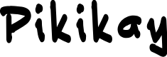 Preview image for Pikikay Font