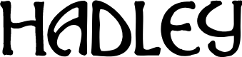 Preview image for Hadley Font