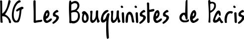 Preview image for KG Les Bouquinistes de Paris Font