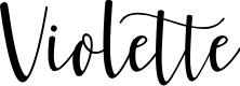 Preview image for Violette Font