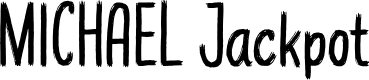 Preview image for MICHAEL Jackpot Font