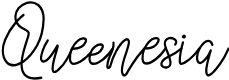 Preview image for Queenesia Font