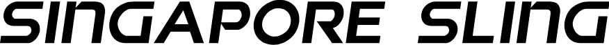 Singapore Sling Semi-Italic