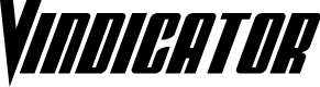 Preview image for Vindicator Condensed Italic