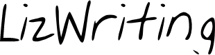 Preview image for Liz_Writing Font