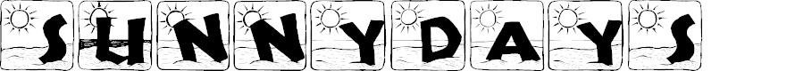 Preview image for SunnyDays Font