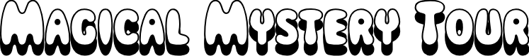 Preview image for Magical Mystery Tour Outline Shadow Font