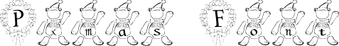 P-xmas Font