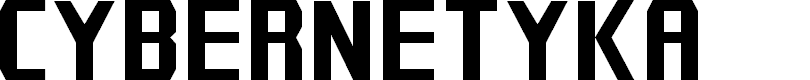 Preview image for Cybernetyka Font