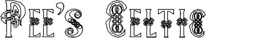 Preview image for Pee's Celtic outline