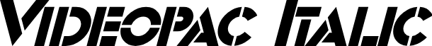 Videopac Italic