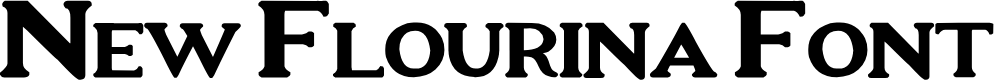 Preview image for New Flourina Font for 2014