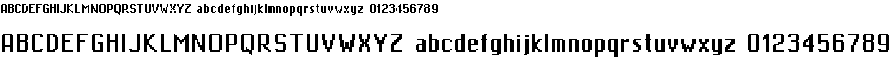 Preview image for MiniMasa Font
