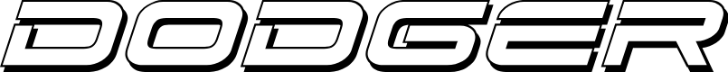 Preview image for Dodger 3D Italic