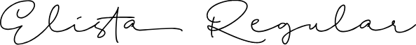 Elista Regular font