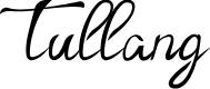 Preview image for Tullang Font
