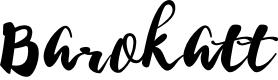 Preview image for BarokattRegular Font