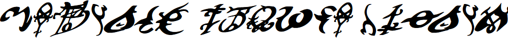 Preview image for Devil's Tongue Italic