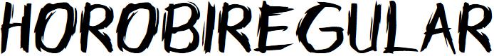 Preview image for Horobi-Regular