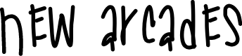 Preview image for NewArcades Font